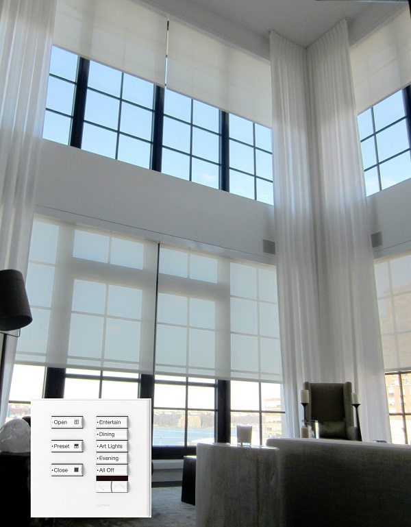 Motorized Shades Opearte Your Window Shades With A Touch