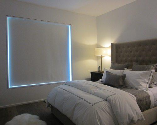 foto de Blackout Roller Shades Great Room Darkeing Solution