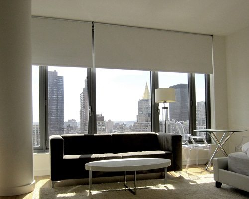 Blackout Roller Shades Great Room Darkeing Solution