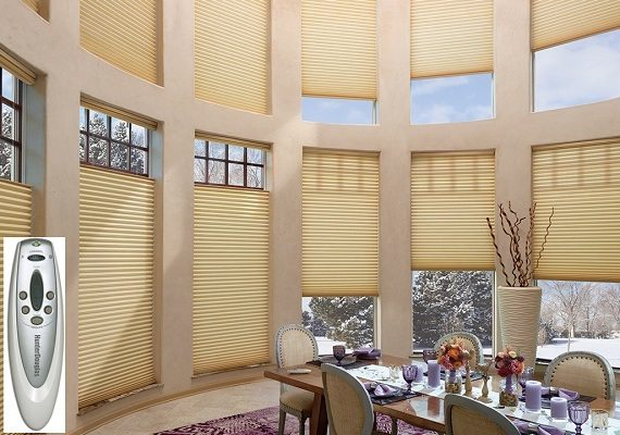 Motorized Shades Opearte Your Window Shades With A Touch Of A Buttun