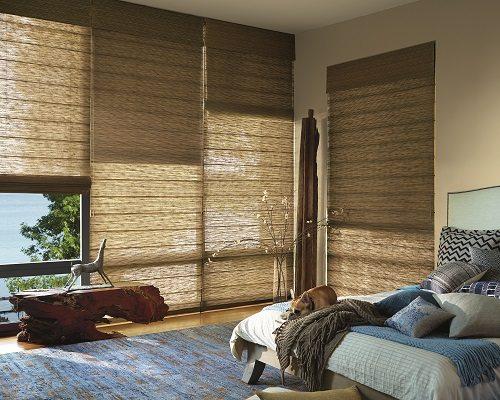 woven wood shade