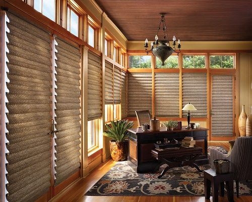Roman shades - soft window treatments (5)