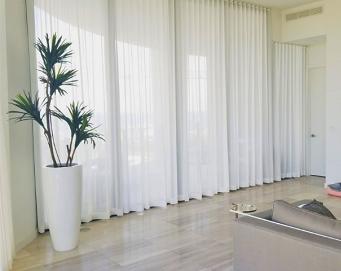 Park Grove Residence window treatments