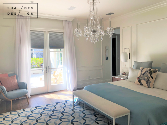 Coral gables Master Bedroom Drapery