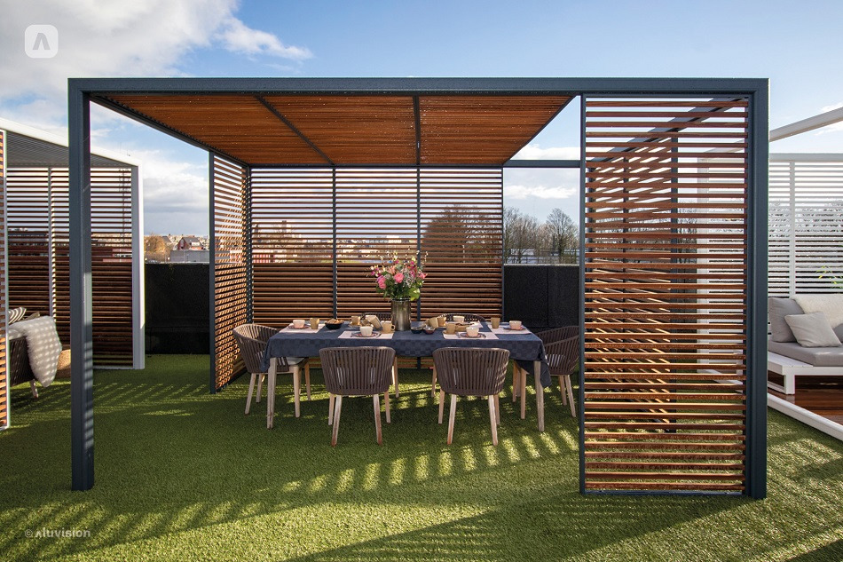 Aluvision Outdoor Living Collection