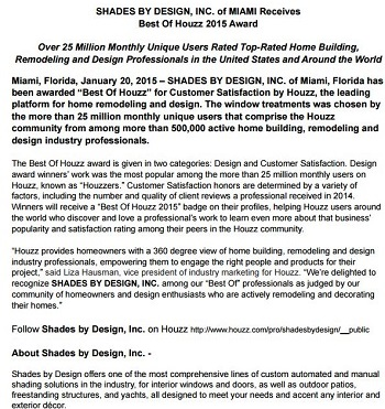 Best Window Treatments Miami