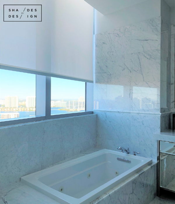 Custom Motorized Window Treatment Gallery Sunny Isles