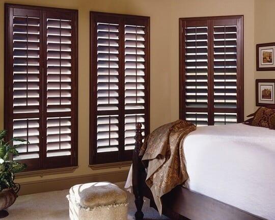 Hybrid plantation shutters