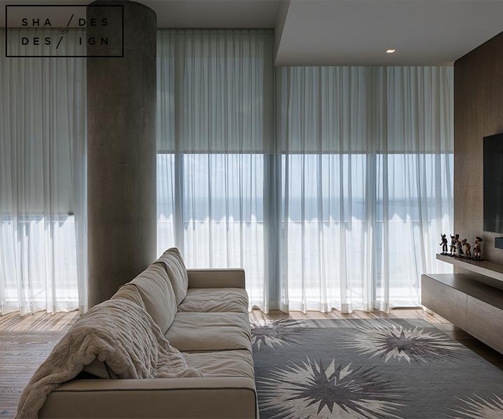 Floor to cilling window treatments miami