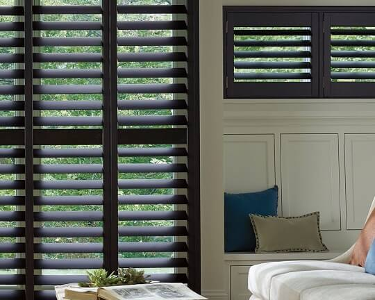 Hunter Douglas Wooden Shutters Miami