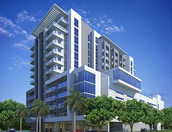 Coral Gables shades for residential building