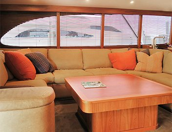 motorized blinds for yacht