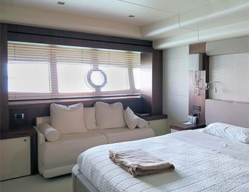 motorized blinds for yacht