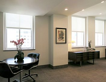 motorized shades for office in miami