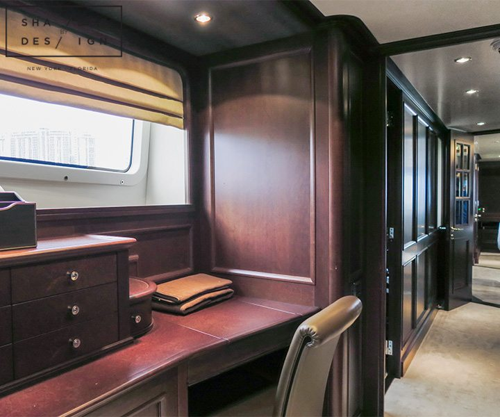 motorized window treatments yacht