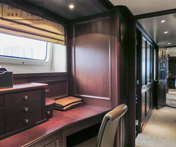 motorized window treatments yacht
