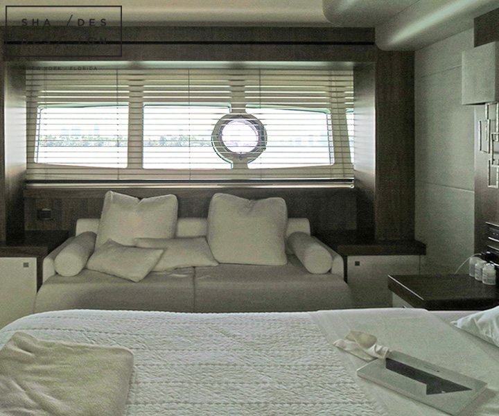 blinds for yacht in miami