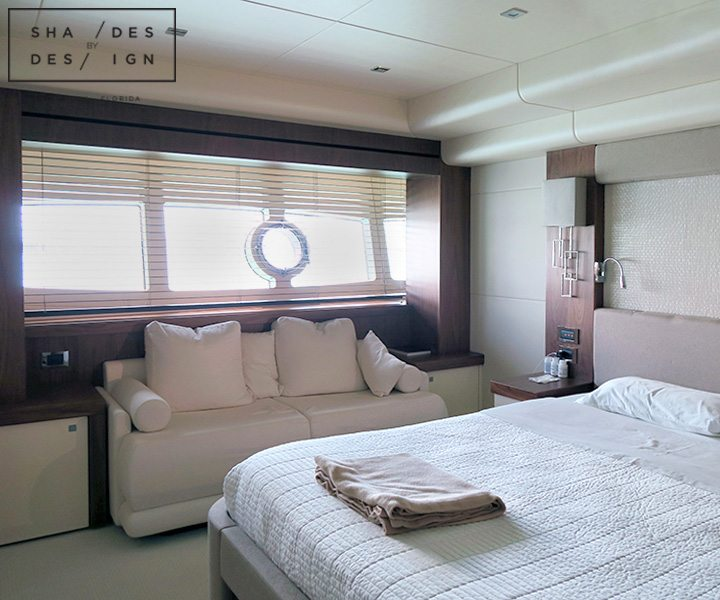 Luxury Yacht Motorized Blinds Blinds For Yacht Miami Fl