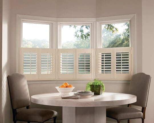 Faux interior shutters