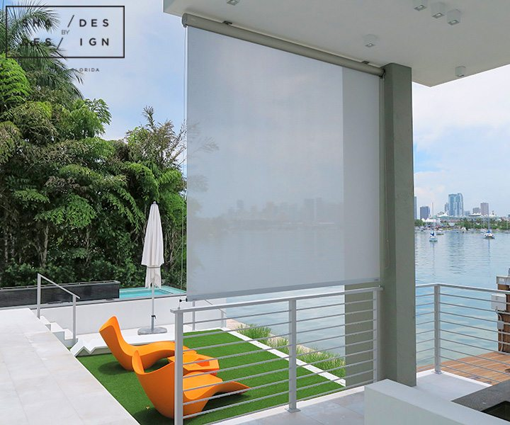 outdoor shades Miami