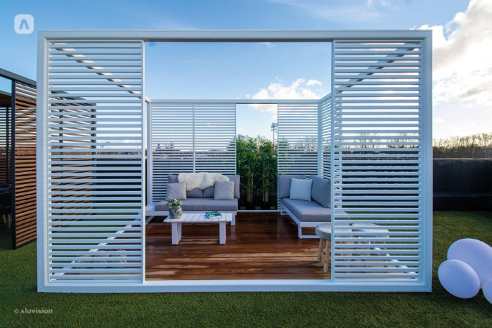 Aluvision Outdoor shades