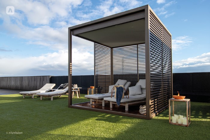 Outdoor living shades