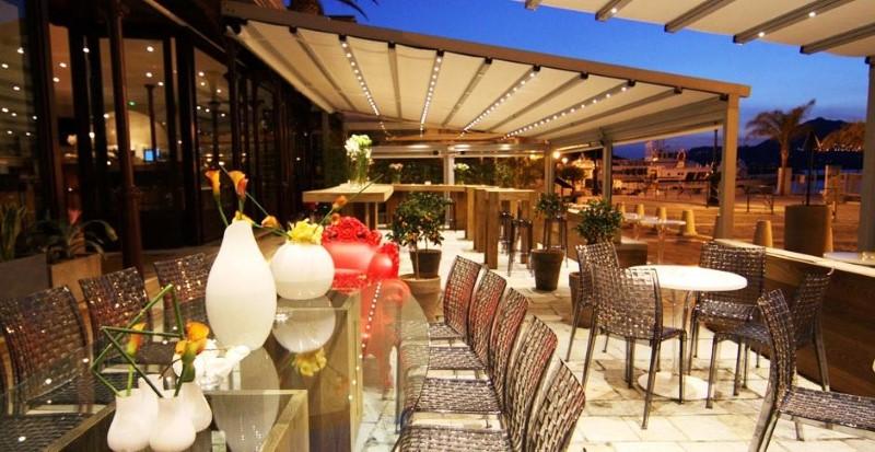 Restaurant awnings window treatments miami