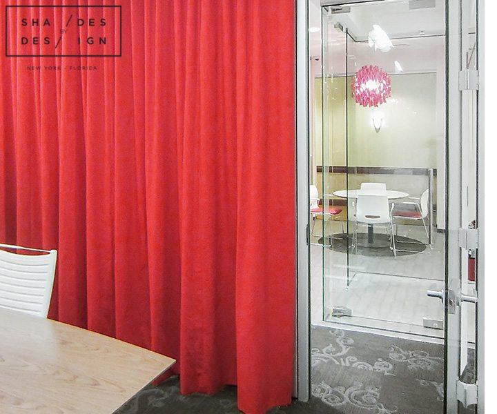 Motorized Ripplefold Curtains