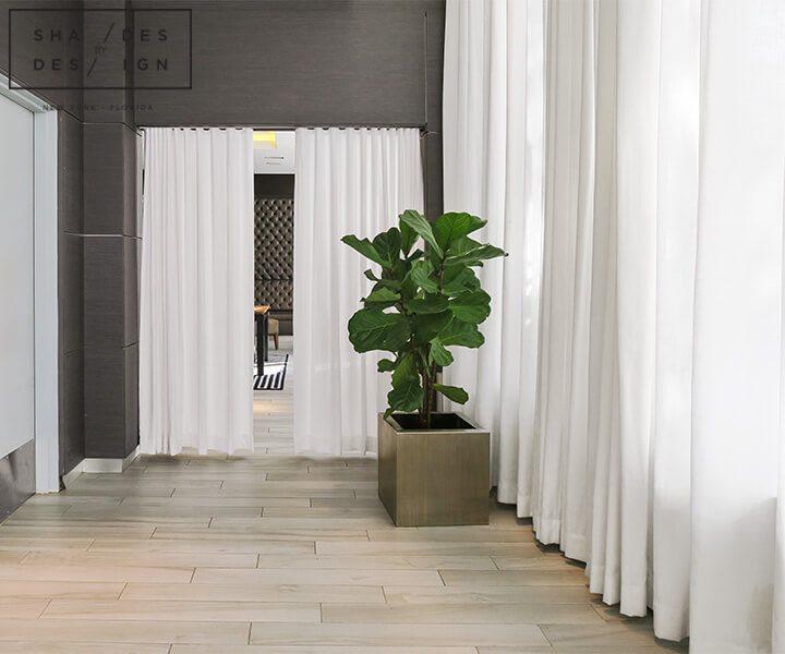 Window Treatments For Hotel Miami