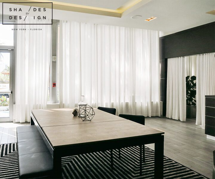 Commerciel miami window treatments