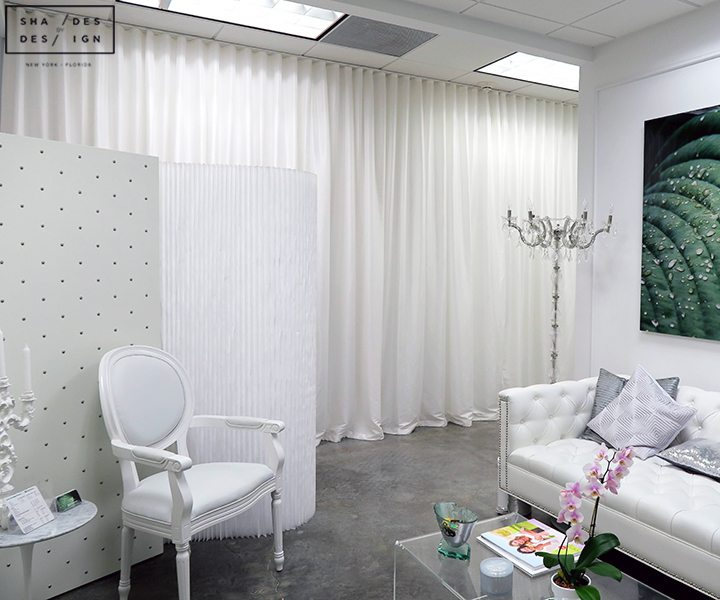 Ripplefold Style Curtains