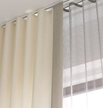 Ripplefold window treatments