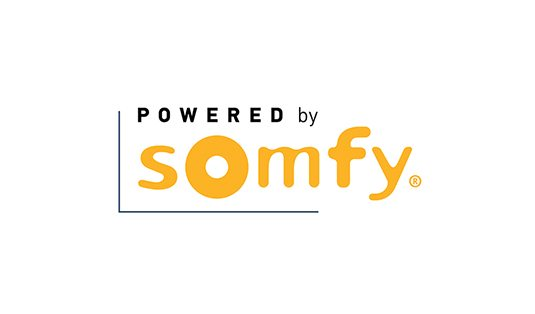 Somfy motorized window treatments