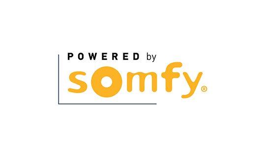 Somfy motorized window treatments