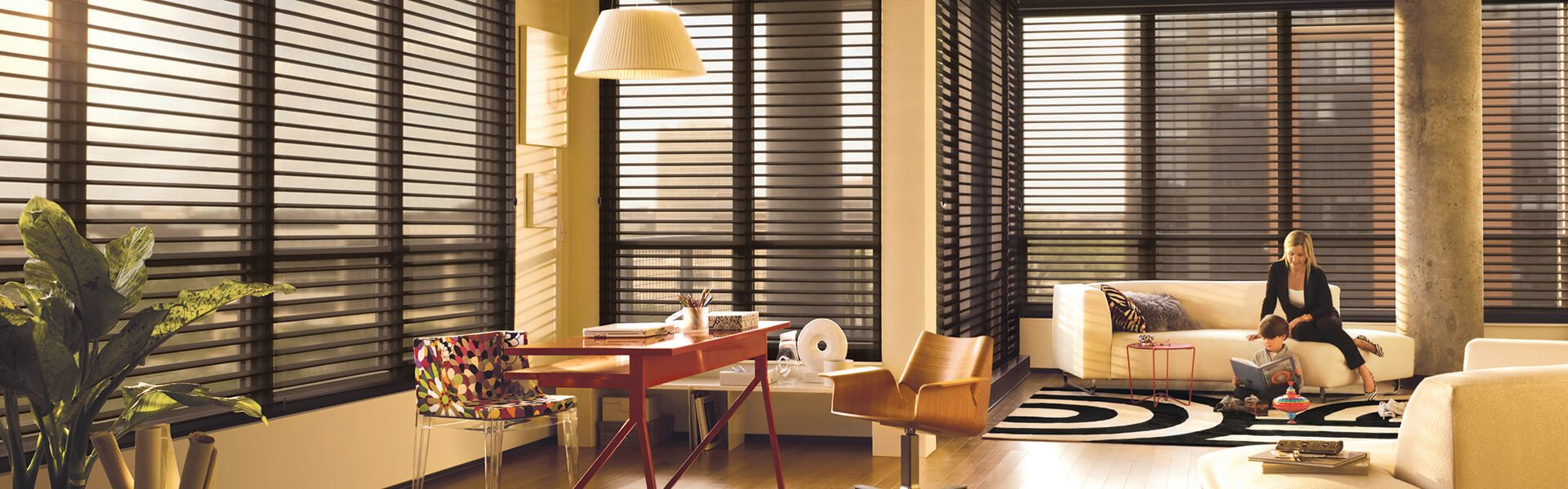 Shades by design custom window treatments miami blinds shades for Hunter douglas exterior sun shades