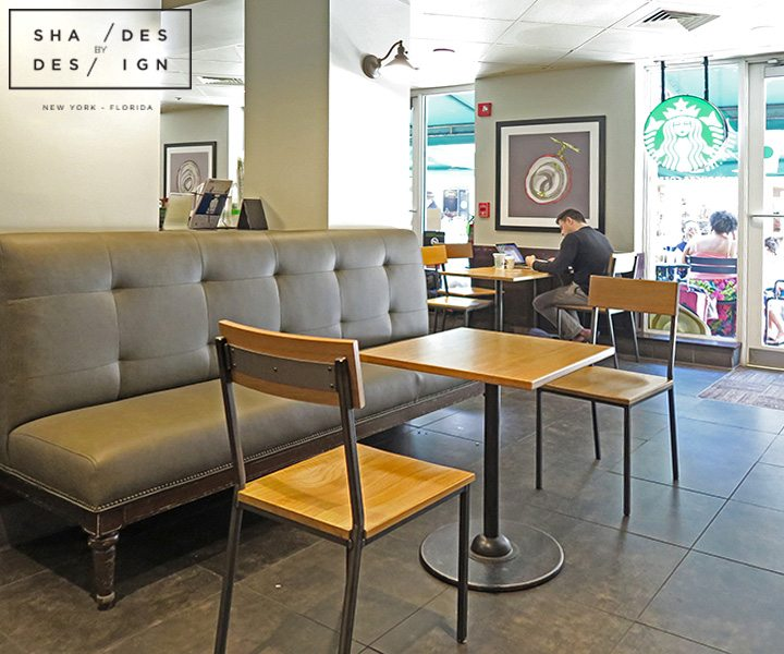 Sofa Upholstery for Starbucks Miami