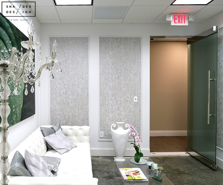 Walpaper installation Doctor office