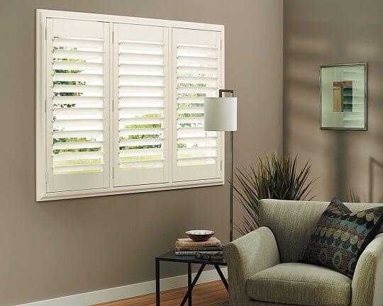 White composite shutters