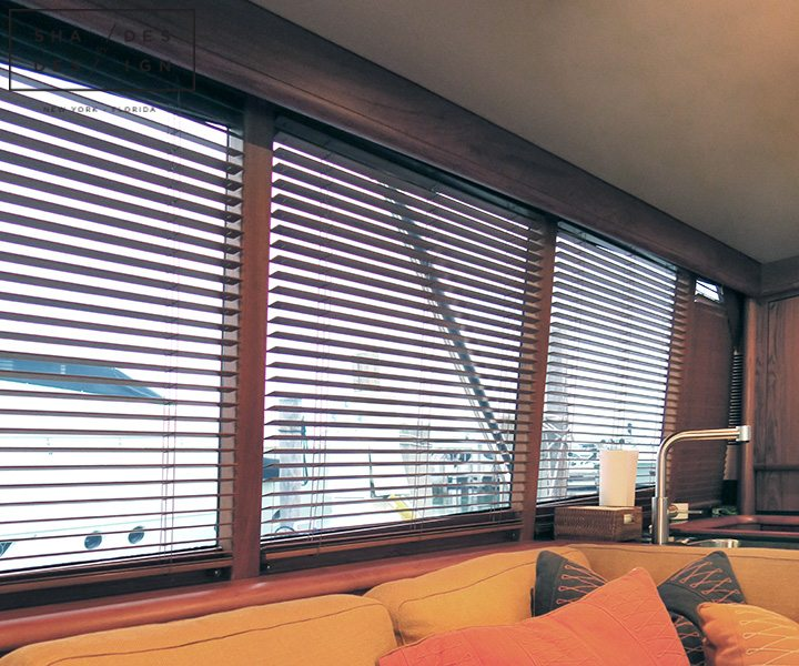 Motirized Blinds Yacht Florida