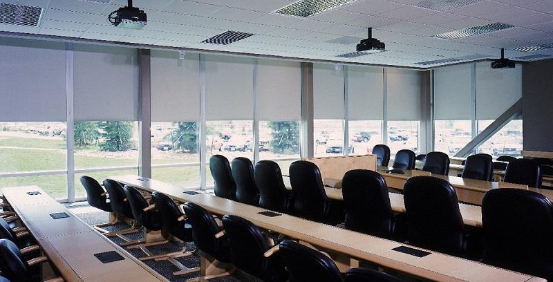 classroom window shades