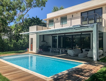 exterior window treatments for pools