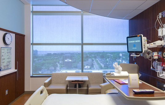 hospital window treatments