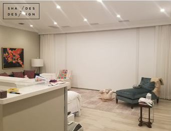 miami Motorized Blackout shades and curtains