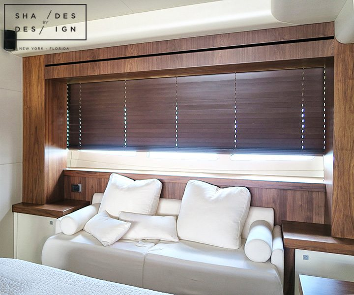 motorized blinds for yacht FL