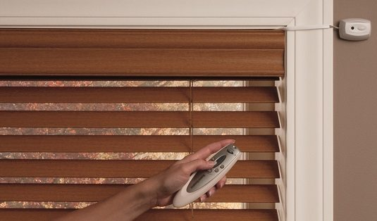 motorized window blinds