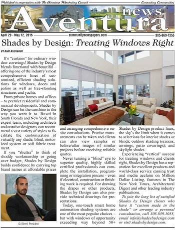 Best window treatments in miami