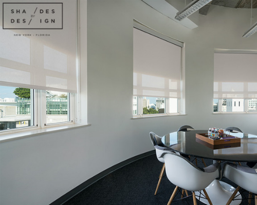 office motorized shades