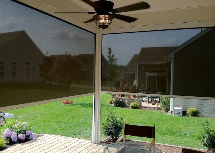 outdoor sheer screens