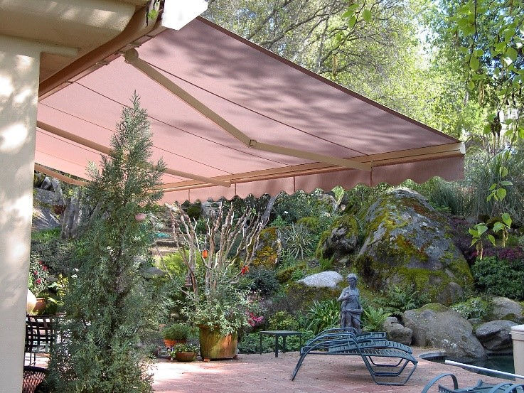 retractable awning window treatments uv protection